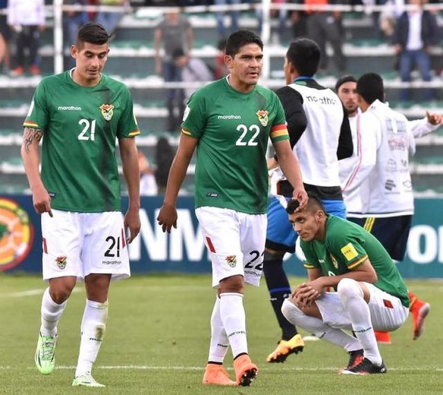 Colombia derrota a una combativa Bolivia en un intenso partido en La Paz