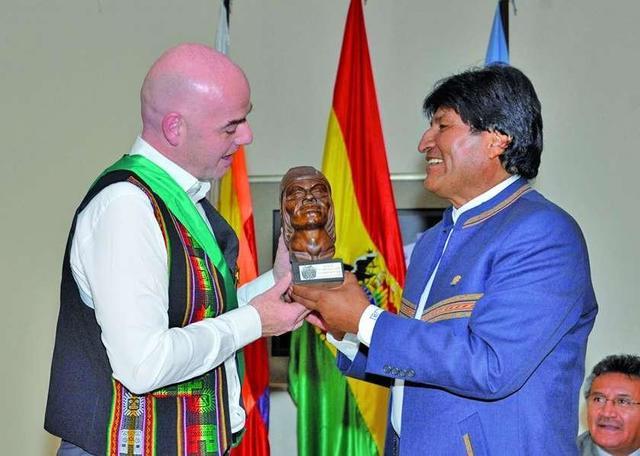 Bolivia quiere ser sede de un Mundial