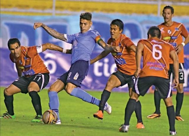 Nacional logra un valioso empate ante Bolívar