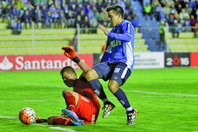 Bolívar empata con Racing y se despide de la Libertadores