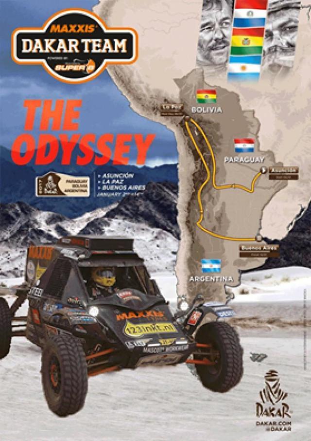 El Dakar 2017 pasará por el lago Titicaca y tomará un día de descanso en La Paz