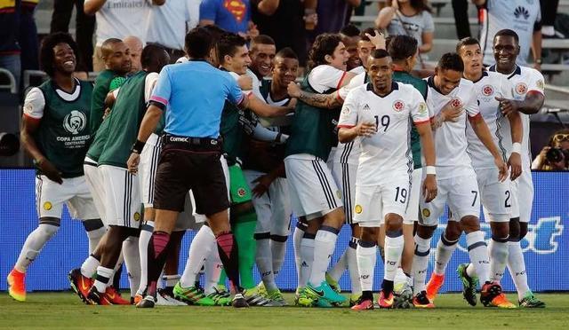 Colombia gana y se clasifica a cuartos