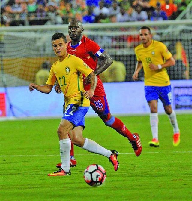 Brasil asume la punta del grupo B