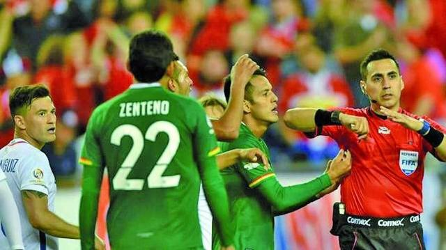 Bolivia fue eliminada con un penal dudoso