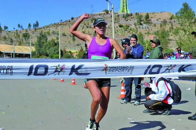 La carrera pedestre 10 K registró a 10.000 deportistas