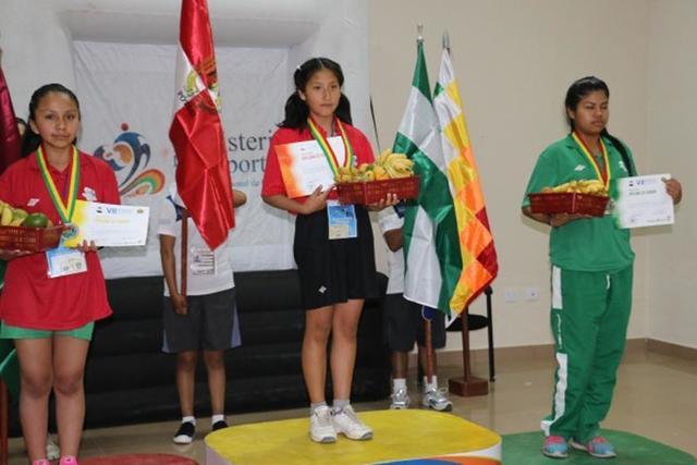 Potosinos suman medallas en los Juegos Plurinacionales