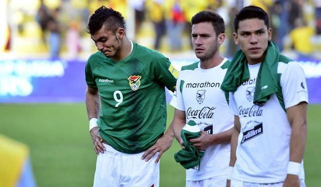 Bolivia es la más goleada
