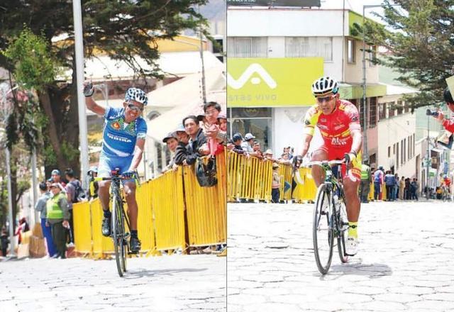 Cotumba y Soliz pelean pedal a pedal la prueba internacional