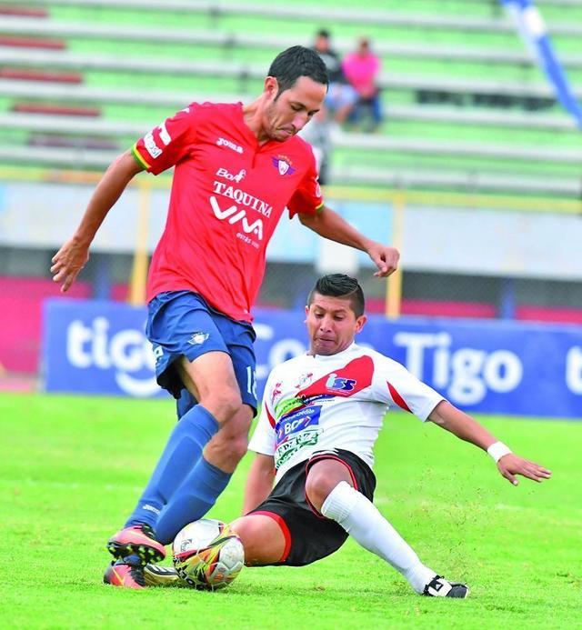 Nacional cae 0-2 en su visita a Wilstermann
