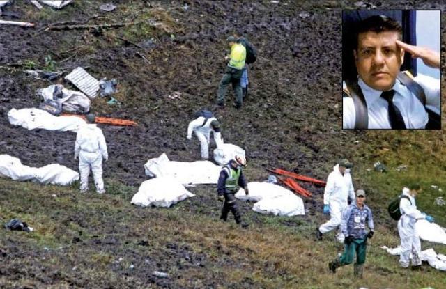 Confirman 76 muertos en accidente aéreo en Colombia