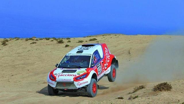 Coche con baterías de litio correrá en el Dakar 2017