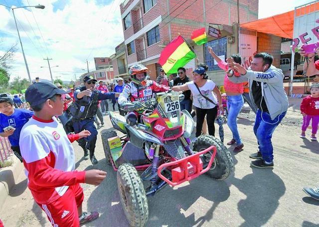 Nosiglia logra un histórico triunfo en el Dakar