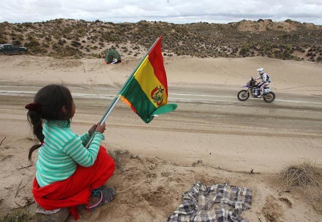 El rali Dakar hoy le dice adiós a Bolivia