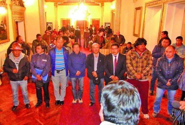 Conforman un comité de transición en Real Potosí