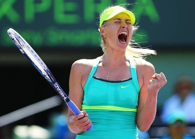 Sharapova volverá a jugar el 26 de abril