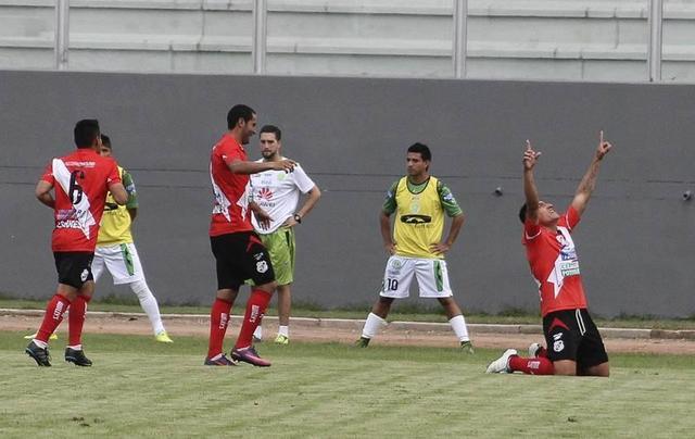 Nacional consigue un empate ante Petrolero