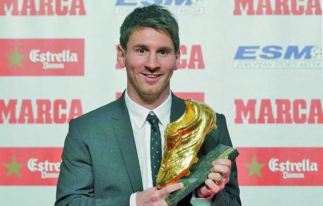 """Messi ya acaricia su cuarta """"Bota de Oro"""""""