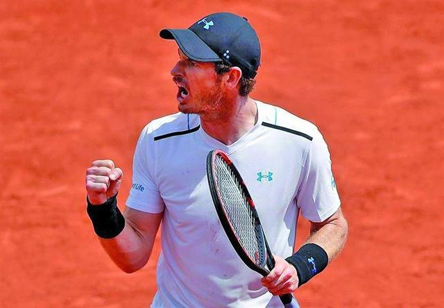 Murray avanza a cuartos en Francia