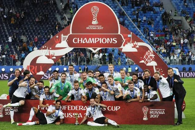 Alemania conquista la Copa Confederaciones