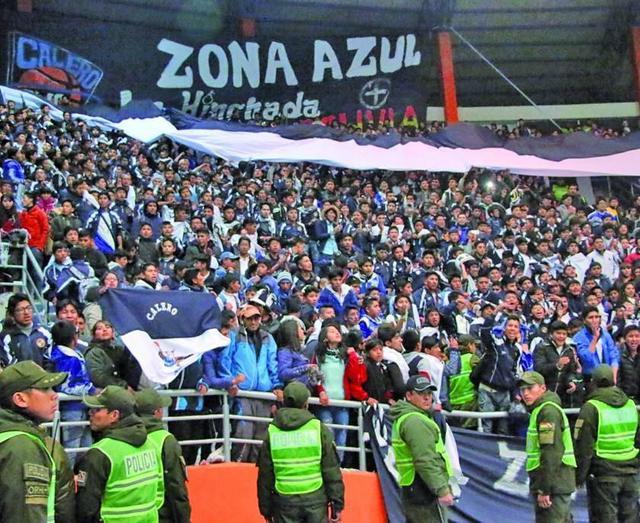El club Calero quiere jugar como local en Cochabamba