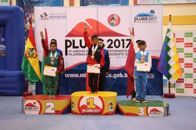 Gimnasia le da las primeras medallas a Potosí en los Pluris