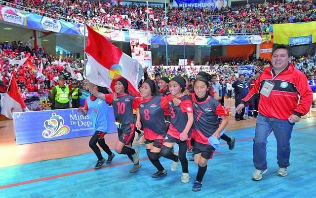 Potosí es tercero en los Juegos Plurinacionales