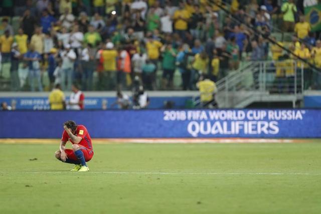 Chile se queda fuera del Mundial