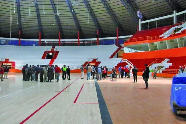 Coliseo de Potosí pasa el examen para ser sede de la Sudamericana