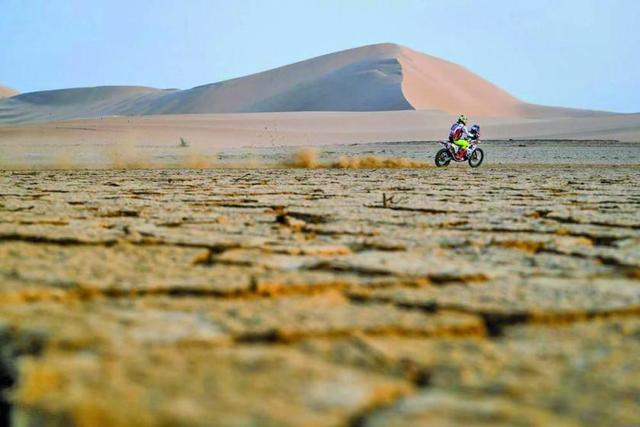 Wálter Nosiglia Jager despunta en el Dakar