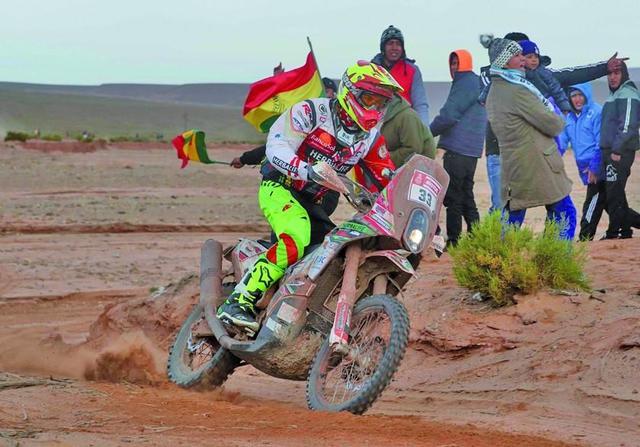 Daniel Nosiglia saca cara por Bolivia en el Dakar