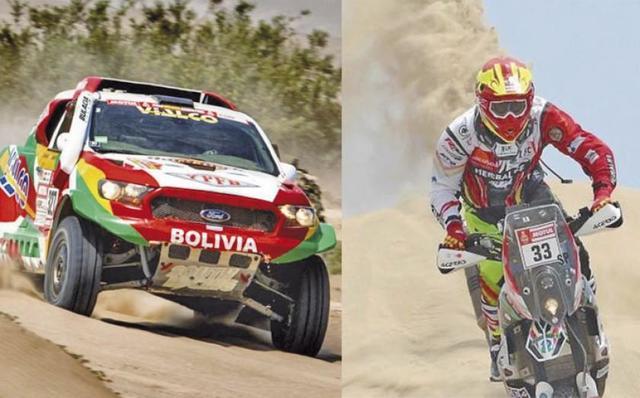 Daniel Nosiglia y Marco Bulacia persisten en el Dakar