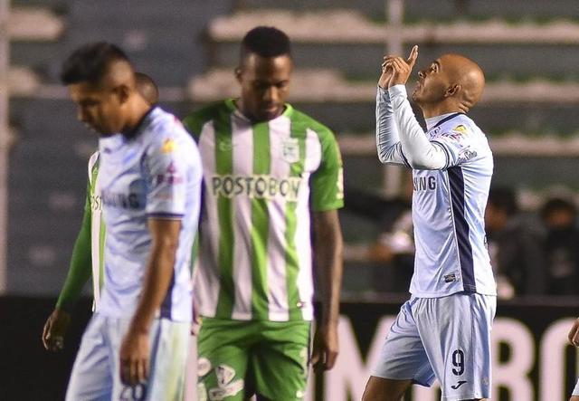 Bolívar gana y sigue con vida en la Libertadores