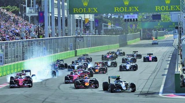 La Fórmula Uno más disputada llega a Bakú