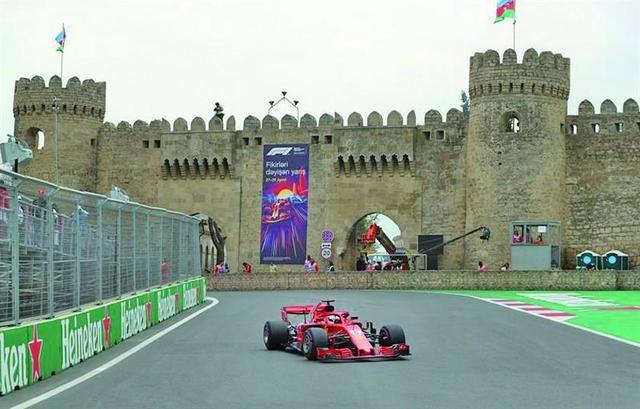Vettel saldrá primero en el Gran Premio de Azerbaiyán
