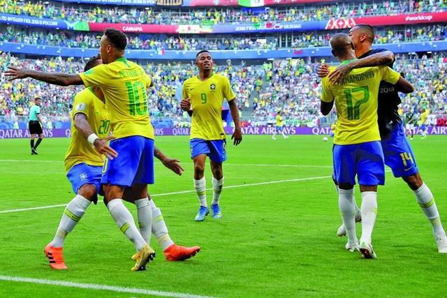 Brasil termina con el sueño del Tri