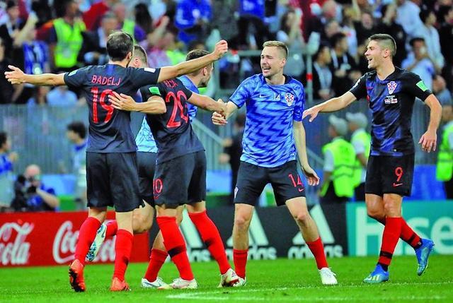 Croacia da la sorpresa y elimina a Inglaterra del Mundial