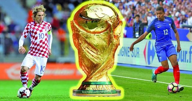 Francia y Croacia sueñan  con levantar la copa