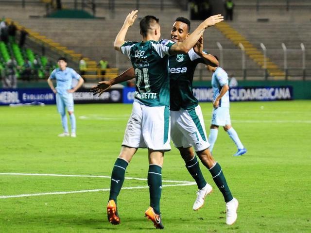 Deportivo Cali aplasta a Bolívar