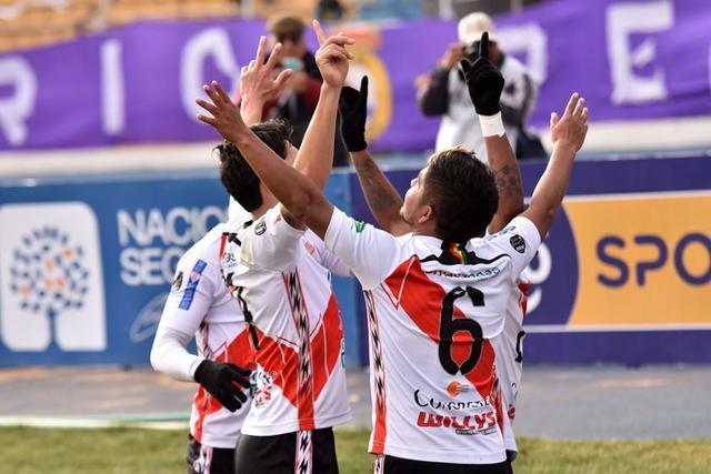 Nacional Potosí gana  el clásico sufriendo