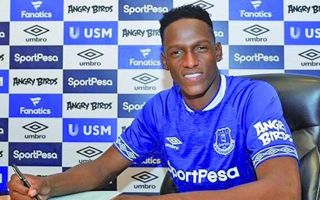 Barza traspasa a Yerry Mina a Everton
