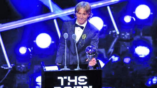 Luka Modric gana el premio como Mejor Jugador del Mundo