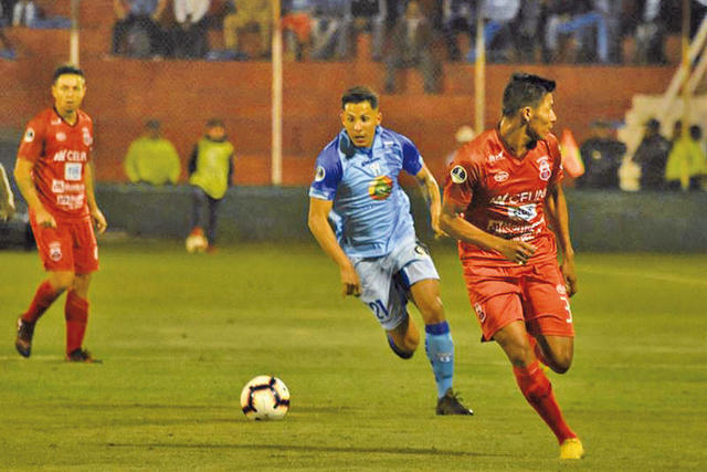 Guabirá logra un gol valioso  en su visita al Macará ecuatoriano