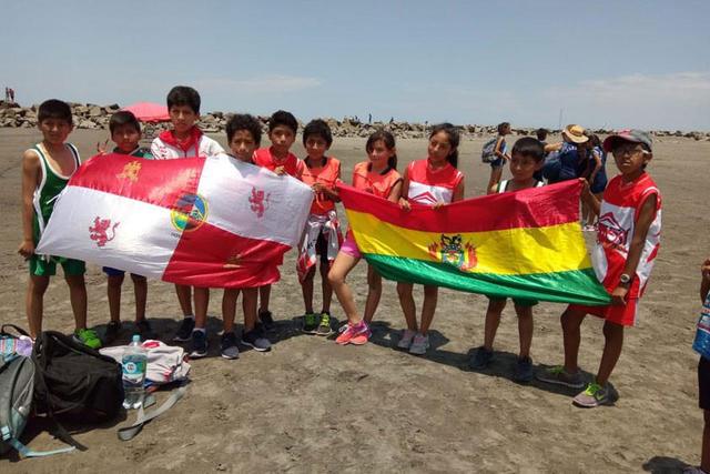Potosinos buscan medallas en el torneo de atletismo en Perú