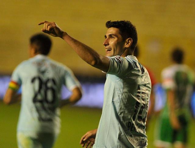 Bolívar golea a Oriente y asume  la punta del torneo Apertura