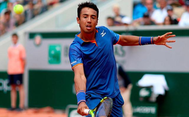 Hugo Dellien cayó ante el top 6 del mundo