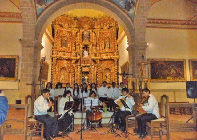 La música antigua sonó en San Benito