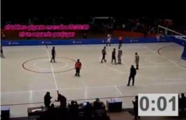 Video demuestra que aro de CAN fue después del partido