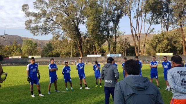 Nacional termina entrenamiento en Cochabamba