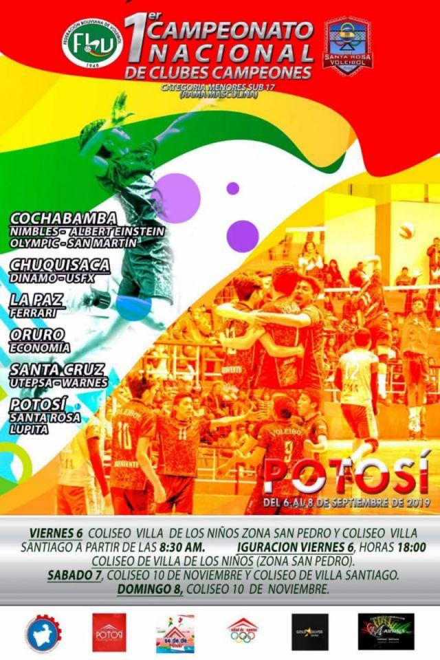 Mañana arranca el campeonato nacional de clubes campeones de voleibol