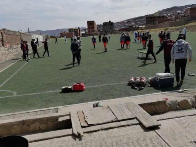 Nacional Potosí entrena de cara al clásico con Real